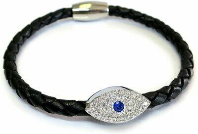 Liza Schwartz evil eye bracelets