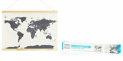 Stitch World Map