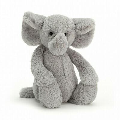 Bashful Gray Elephant