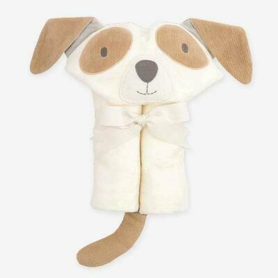 Bath Wrap-Tan Puppy