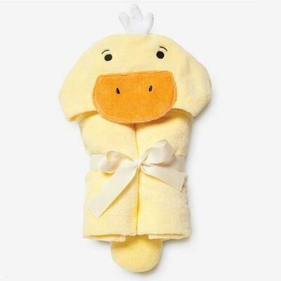 Bath Wrap-Yellow Ducky
