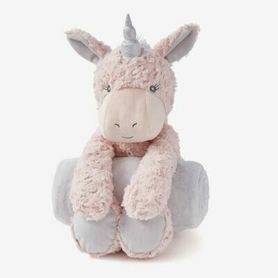 Bedtime Huggie- Pink Unicorn Swirl