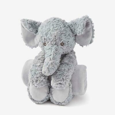 Bedtime Huggie- Elephant Swirl