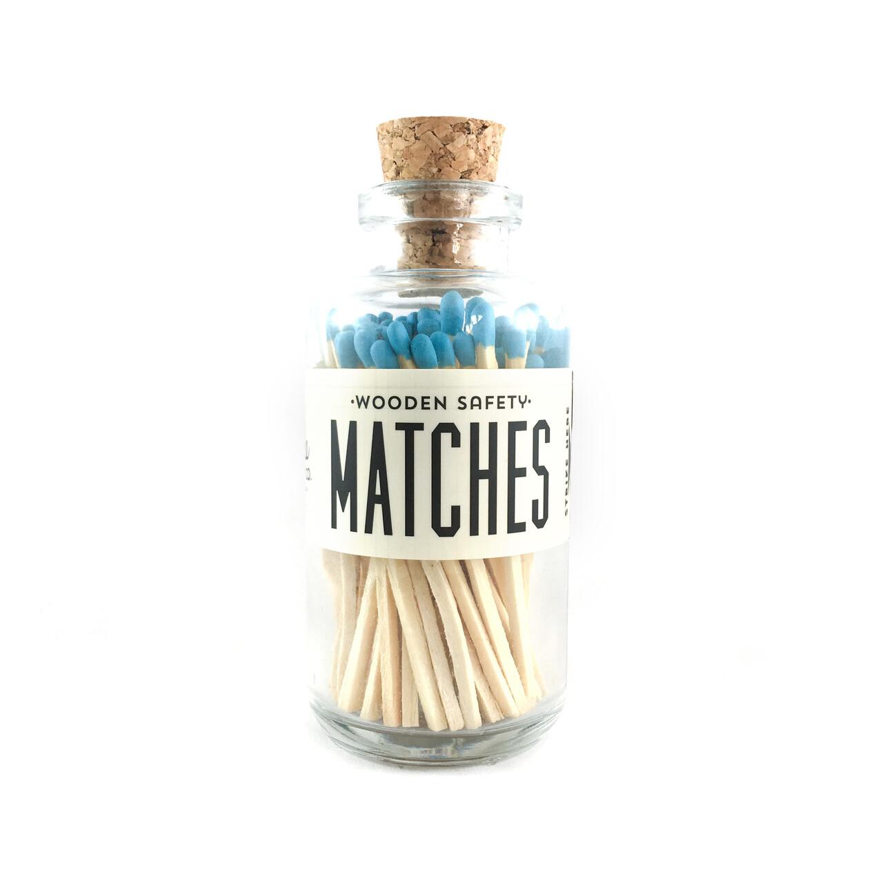 Mini Matches Aqua
