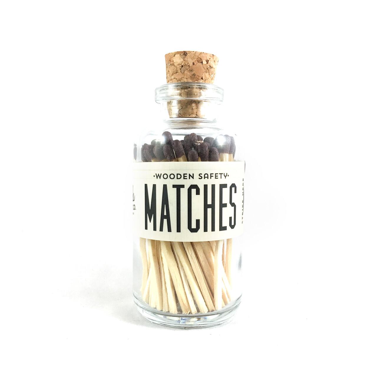 Mini Matches Brown