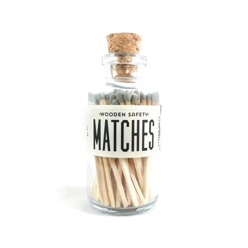Mini Matches Gray