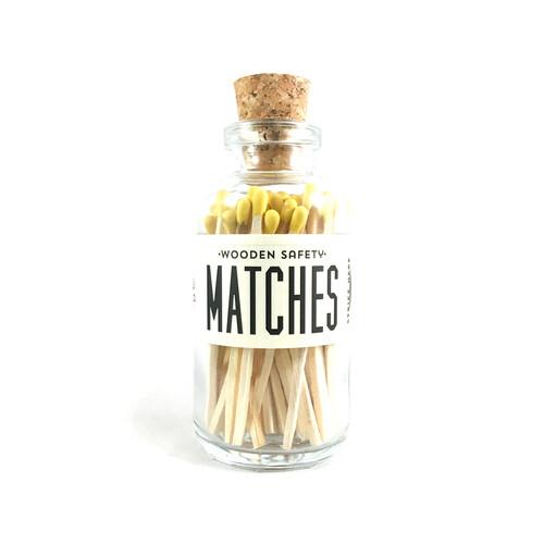 Mini Matches Yellow