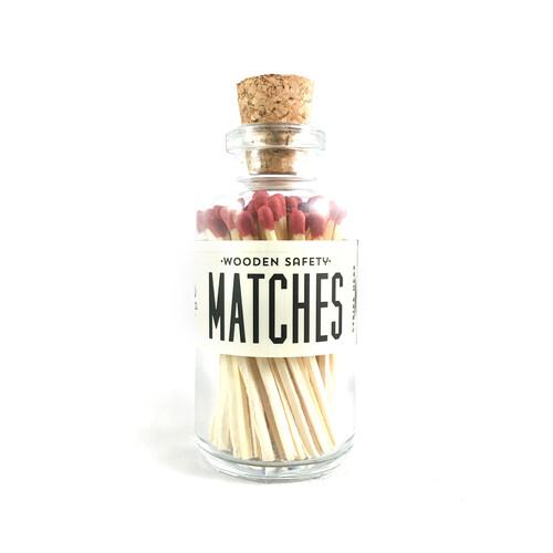 Mini Matches Maroon