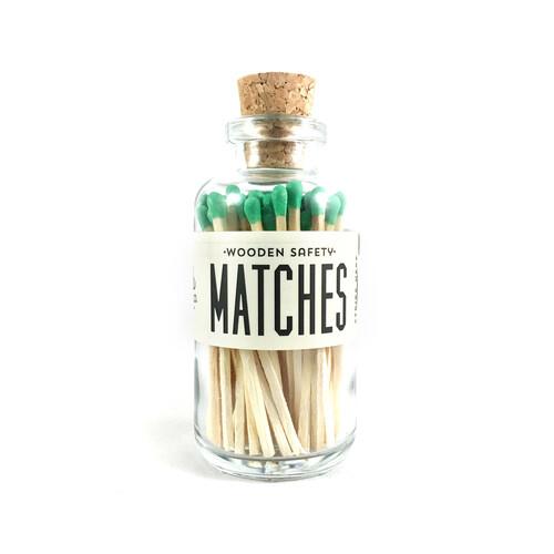 Mini Matches Green
