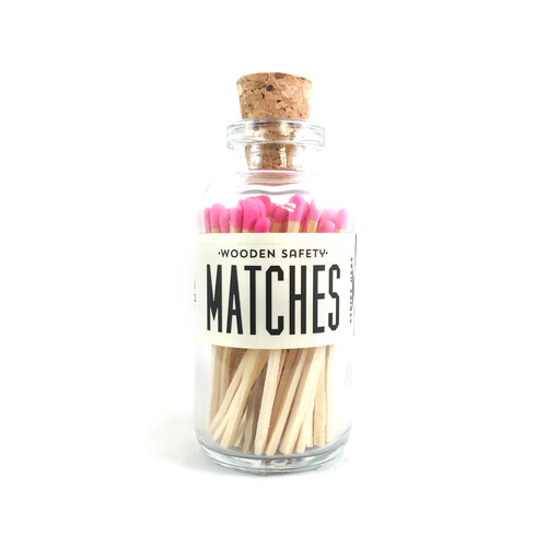 Mini Matches Pink
