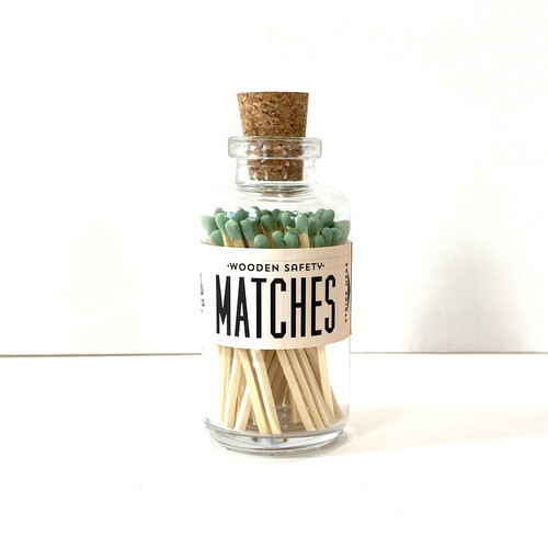 Mini Matches Sage
