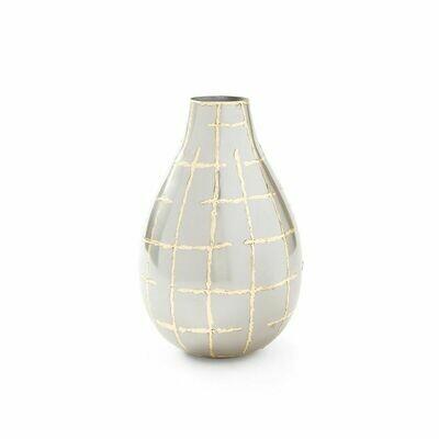 Vase Loom-700/Silver