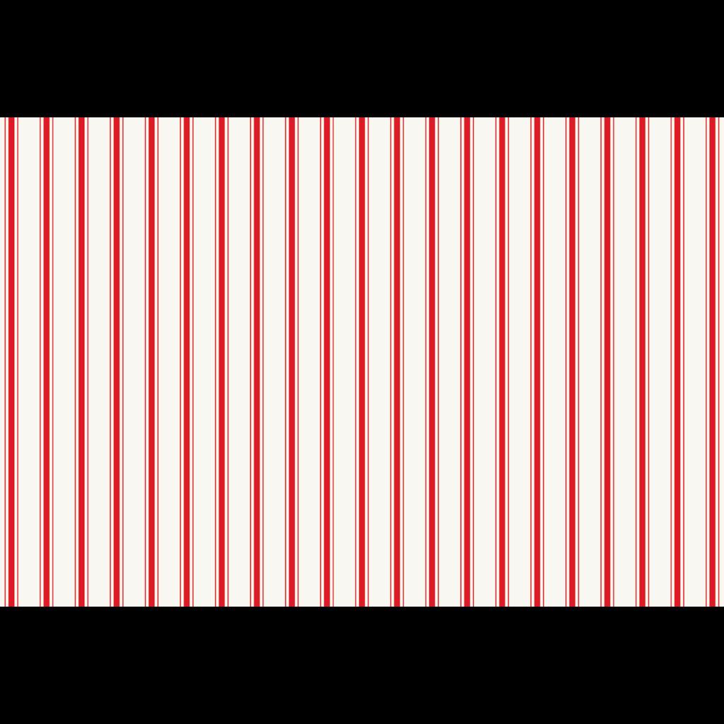 Red Ribbon Stripe Placemat 24 Sheets