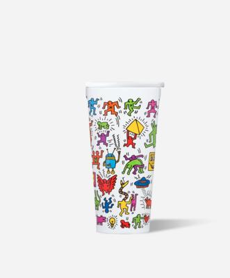 Tumbler Keith Haring Street Art 16oz