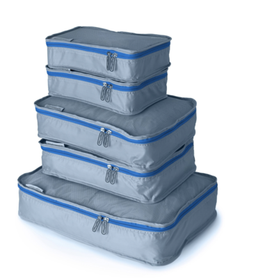Blue Packing Cube (Set of 5)