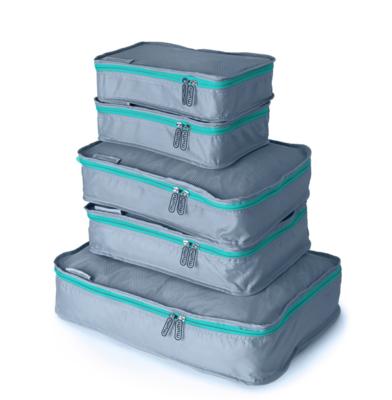Aqua Packing Cube (Set of 5)