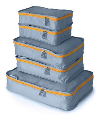 Orange Packing Cube (Set of 5)