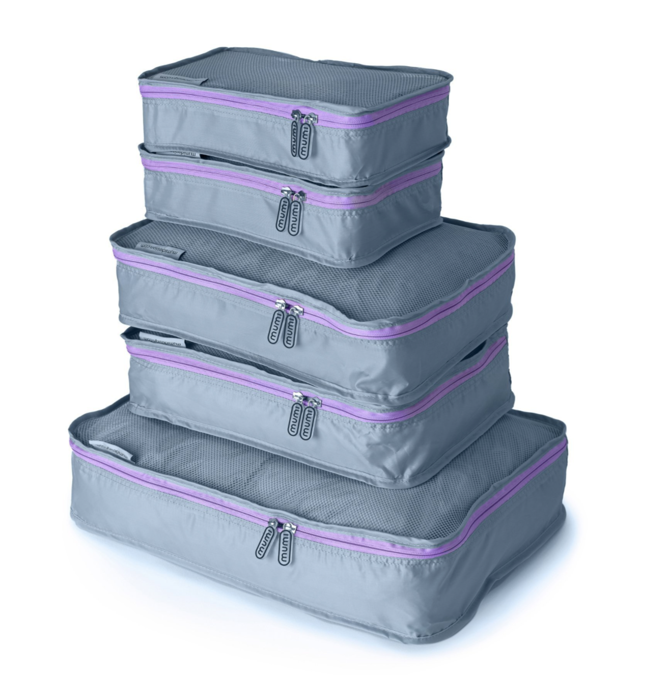 Purple Packing Cube (Set of 5)