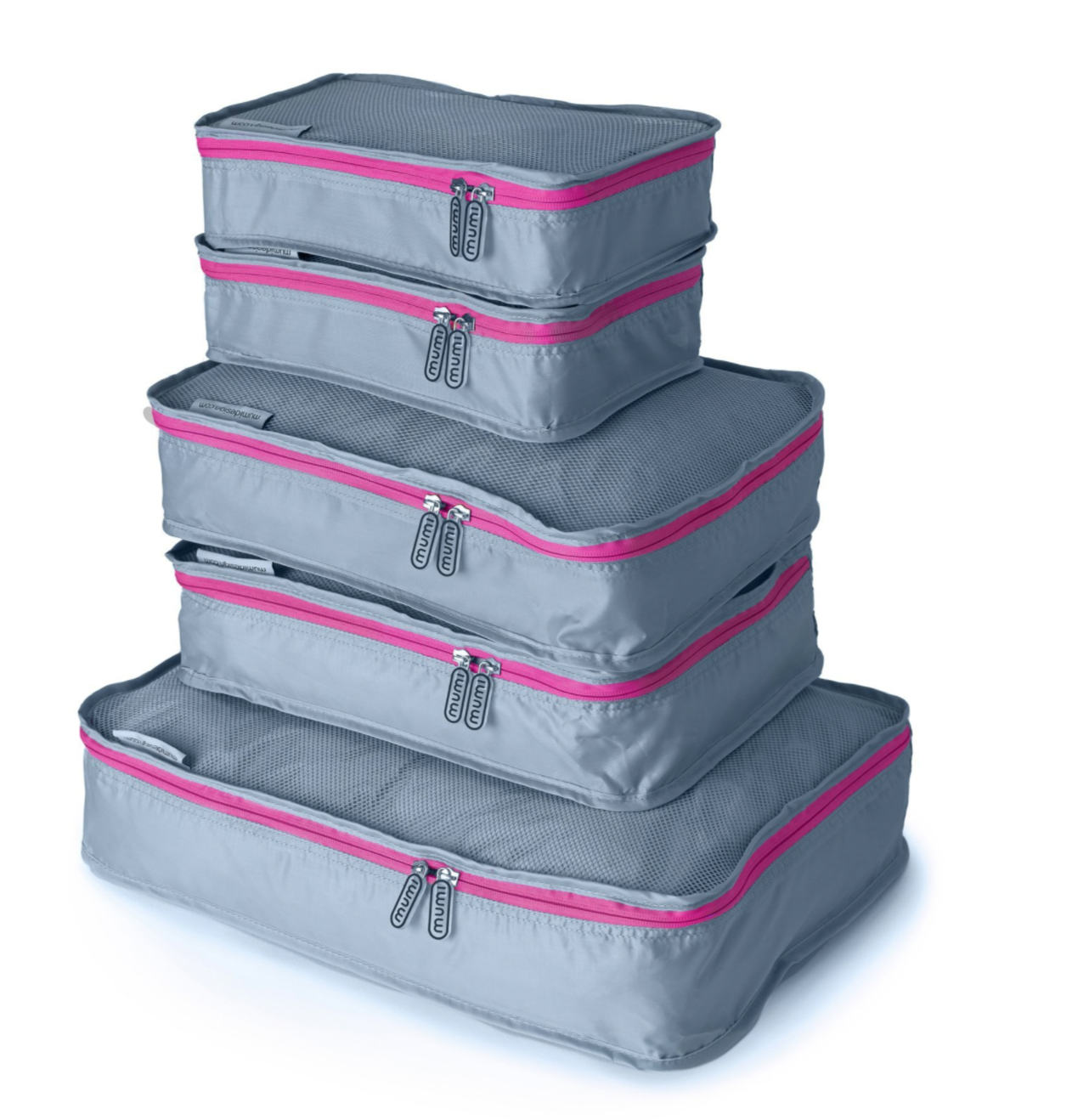 Pink Packing Cube (Set of 5)