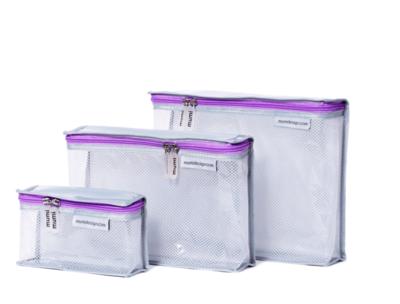 Purple Toiletry Cubes