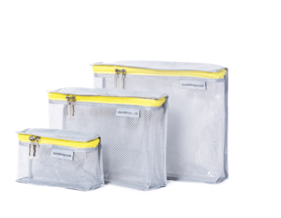 Yellow Toiletry Cubes
