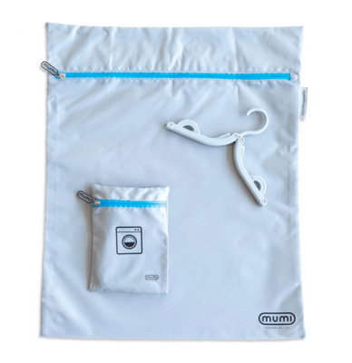 Travel Laundry Bag - Blue