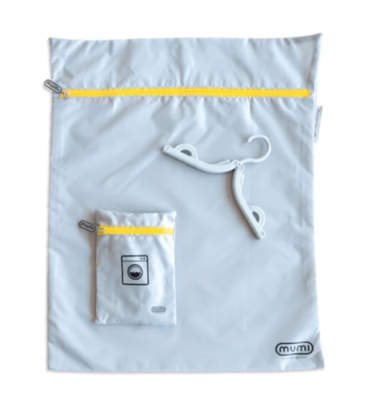 Travel Laundry Bag - Yellow