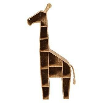 Giraffe-Wicker Shelf