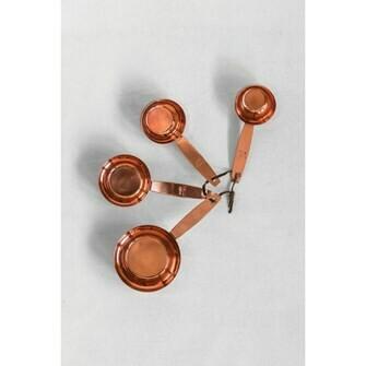 Copper & Brass Measuring Cups
