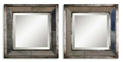 Davion Square Mirror set of 2