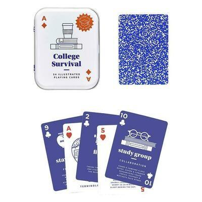 College Survival Cards