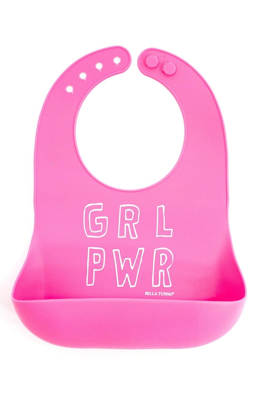 Girl Power Wonder Bib