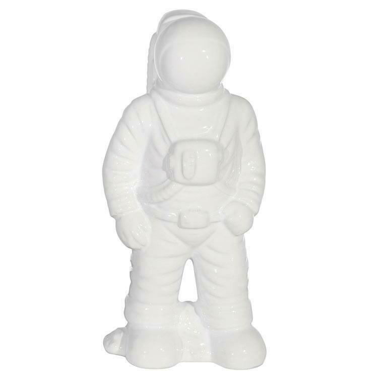 Astronaut Statuette White