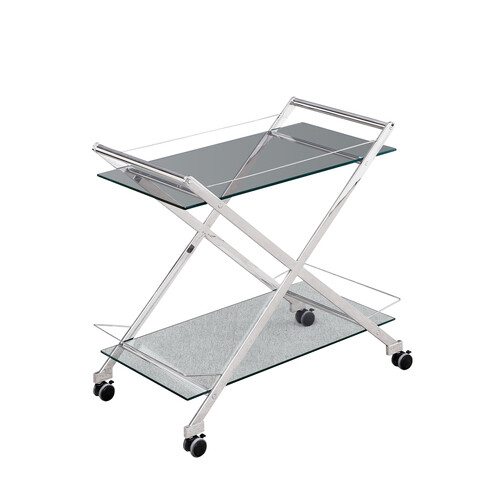 Two Tier 31 Rolling Bar Car