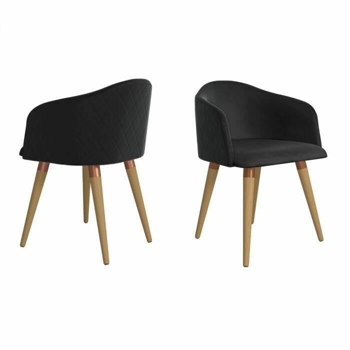 Karl Accent Chair Black