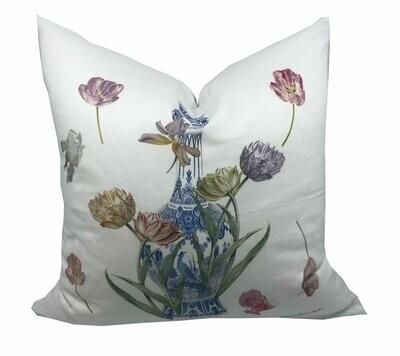 Royal Delft Purissima Linen Cotton Pillow