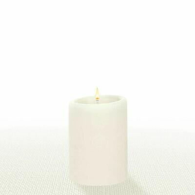 Natural 3X4 Pillar Candle