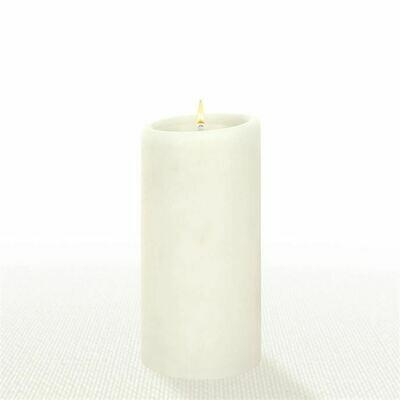 Natural 3X6 Pillar Candle