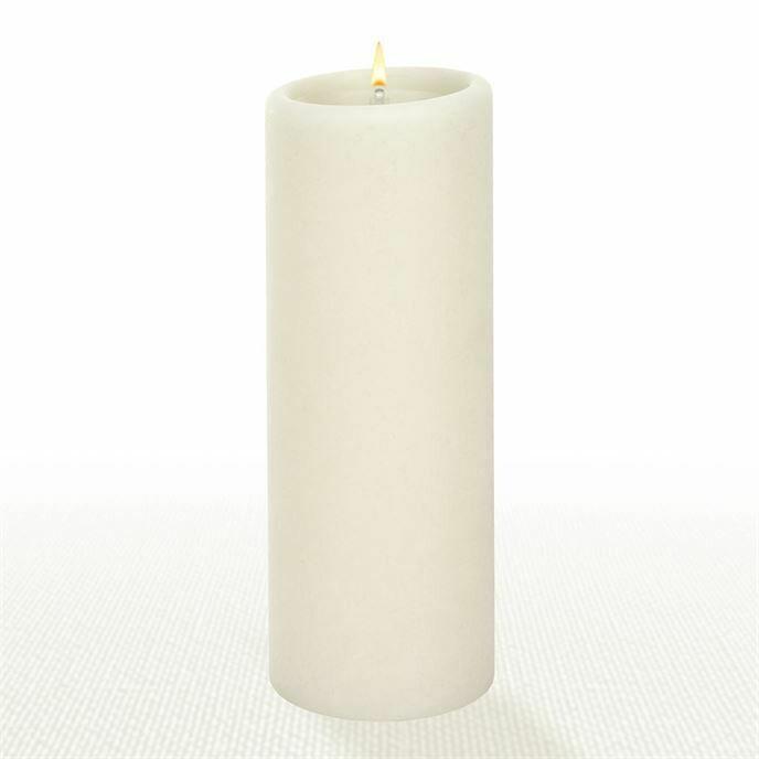 Natural 3X8 Pillar Candle