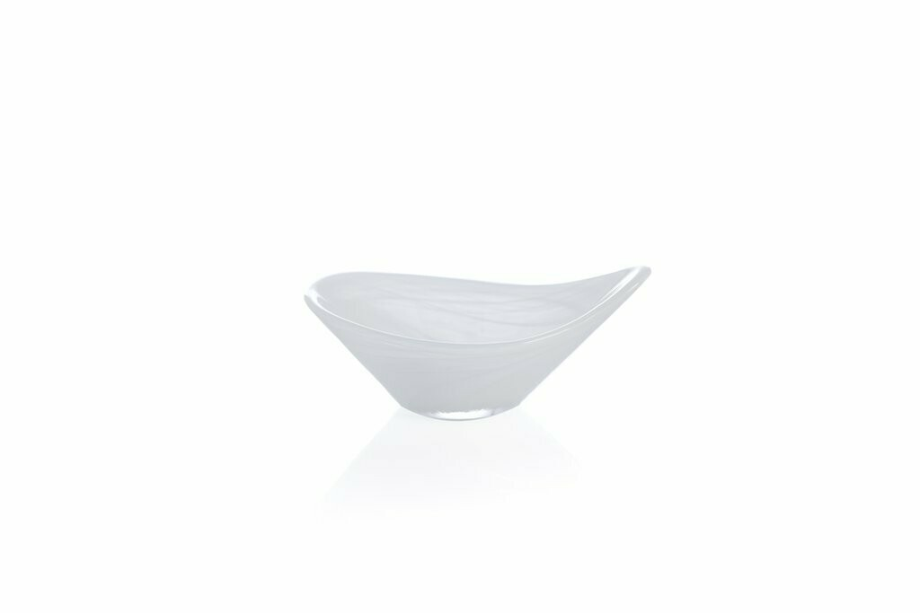 Polished Alb Tasting Dish White