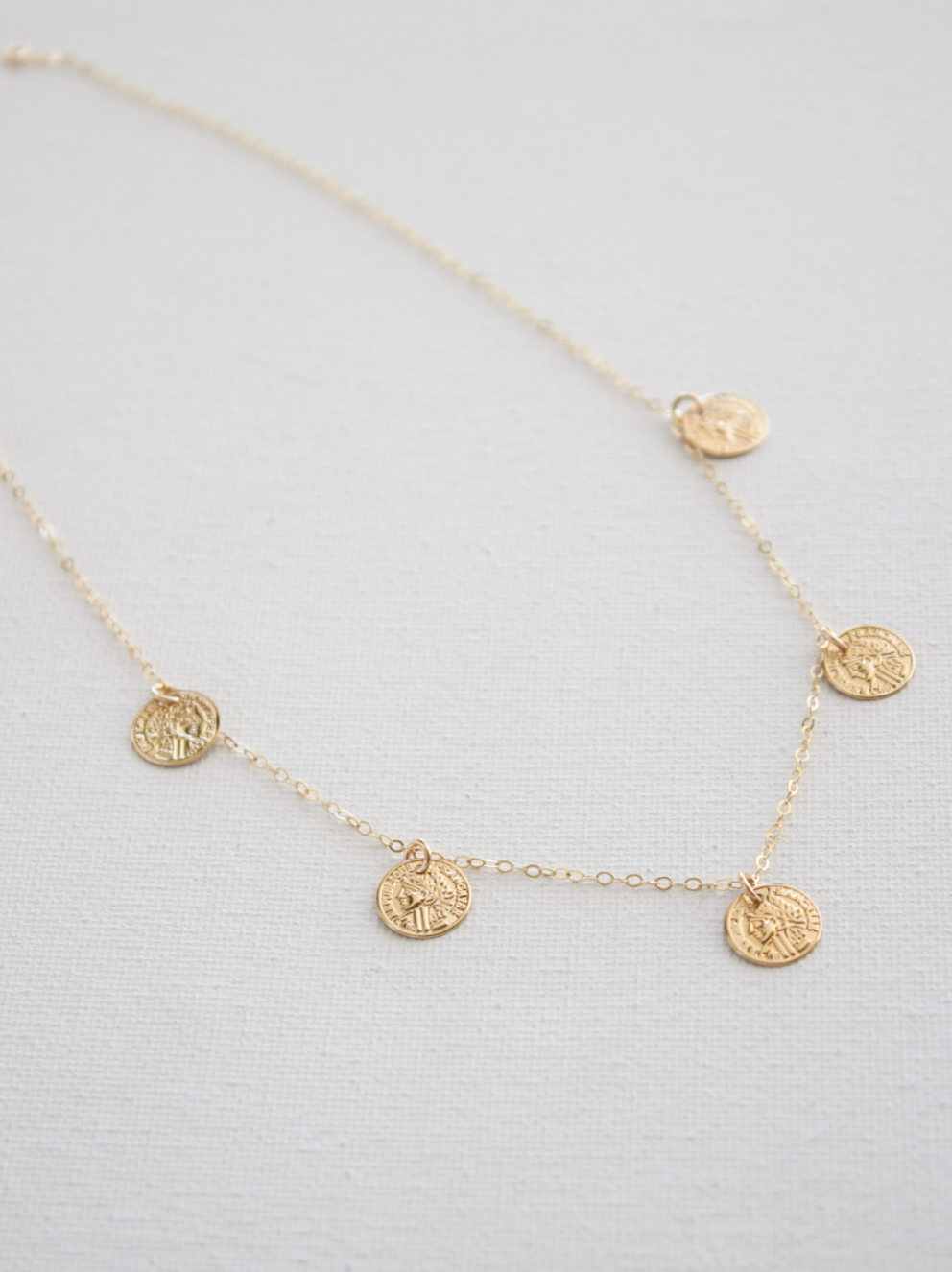 Gold Chain Small Coin CN1290