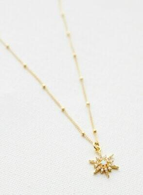 Gold Opal Ball Chain CN1302