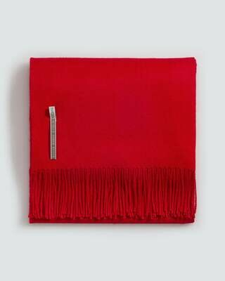 Red Solid Throws