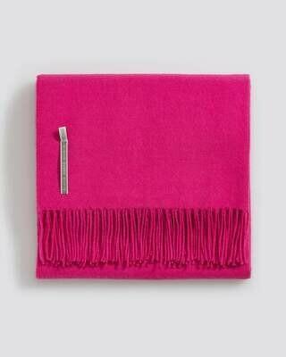 Shocking Pink Solid Throws