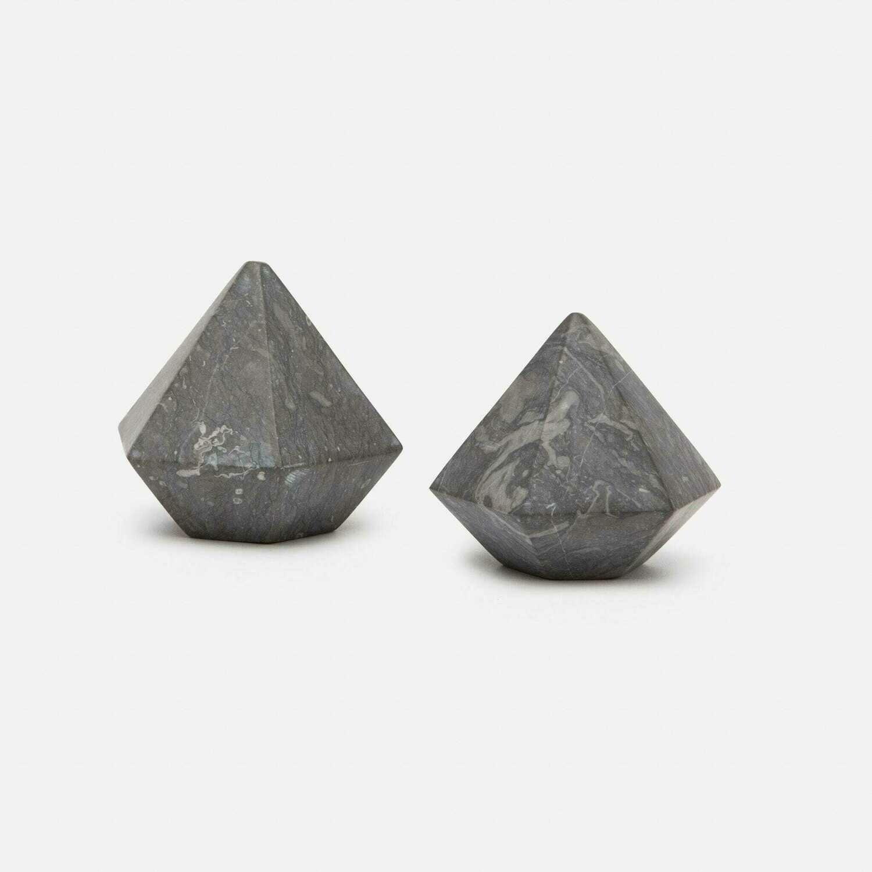 Black Marble Dimond Set/2