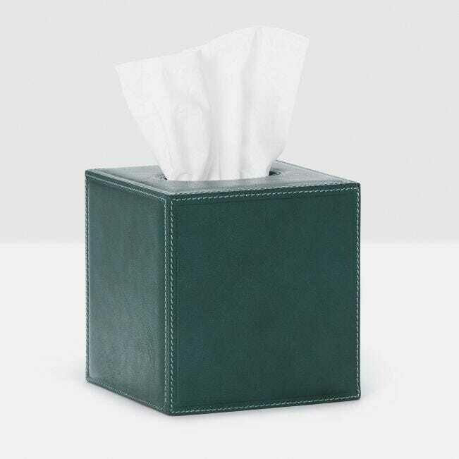 Dark Teal Tissue Box