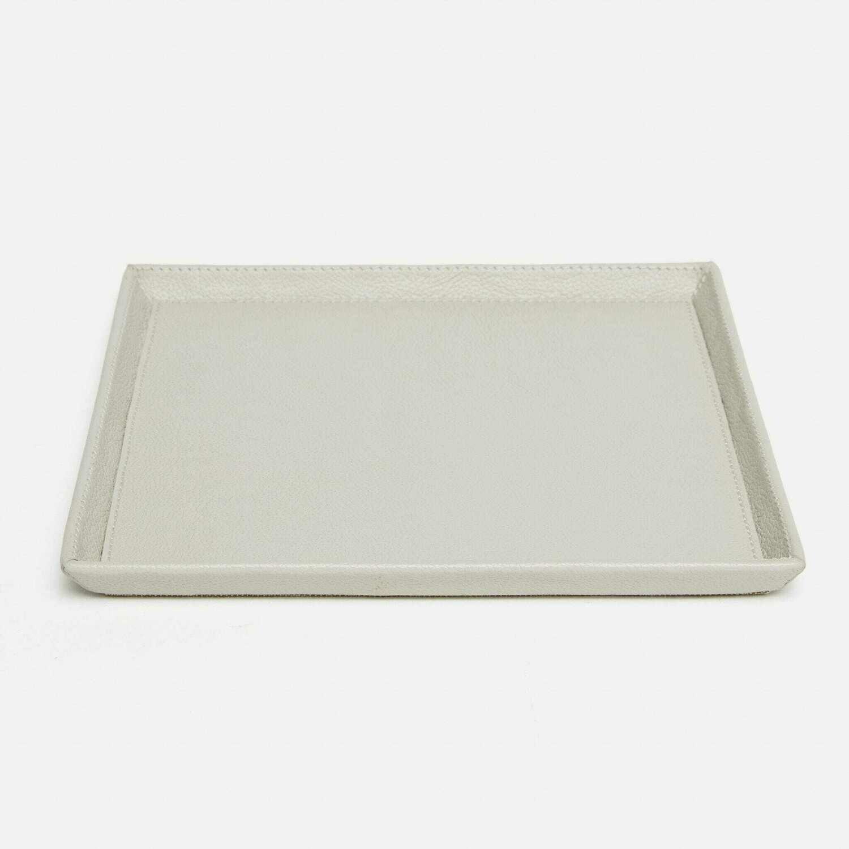 Light Gray Large Square Tray