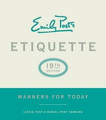 Emily Post's Etiquette, 19th