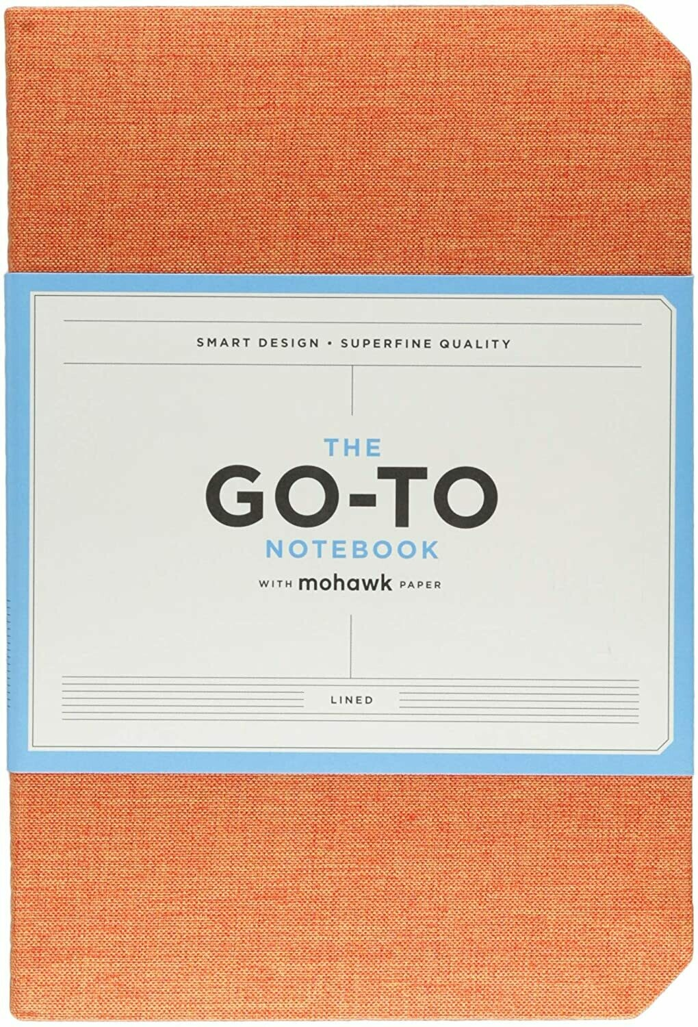 Go-To Notebook Lined Orange