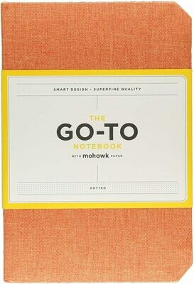 Go-To Notebook Dotted Orange